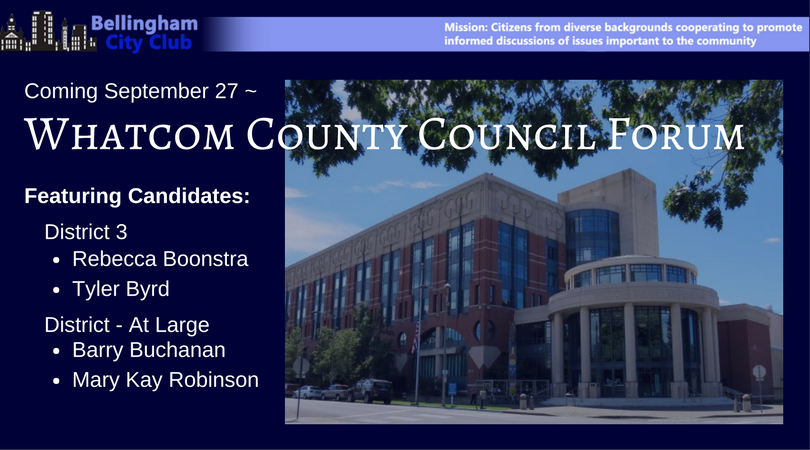 Whatcom County Council Form District 3 and At Large