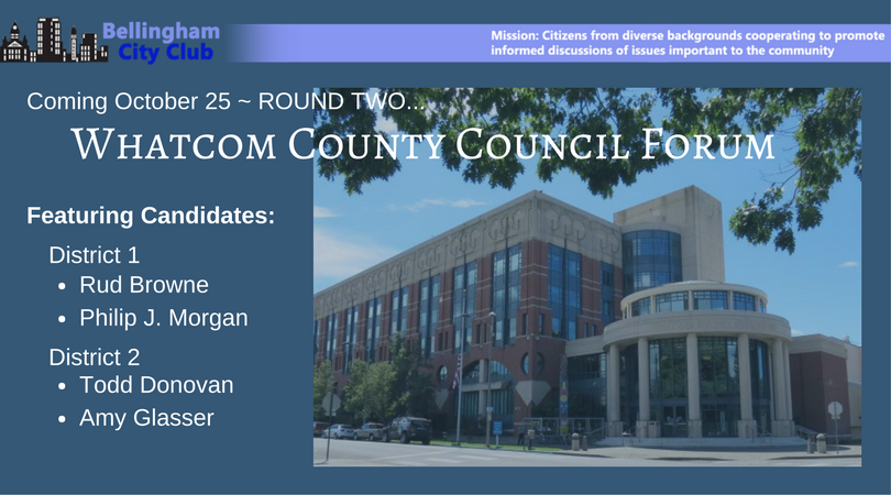 Whatcom County Council district 1 and 2 candidates