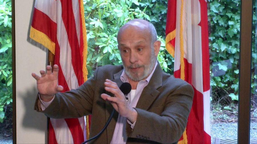 Peter Earle speaking on partisan gerrymandering